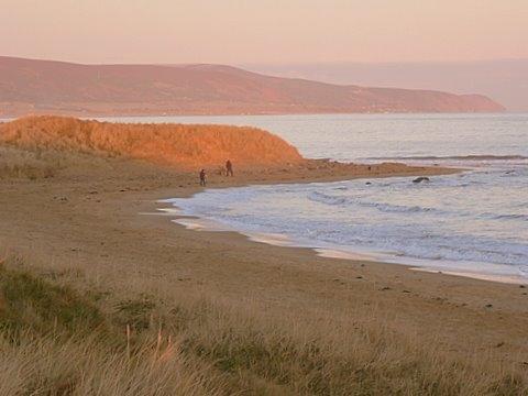 Brora beach at dawn